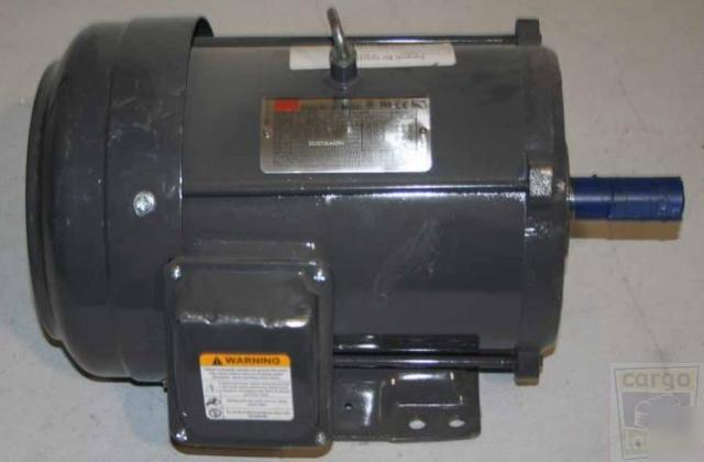 New Dayton 3kx04g Electric Motor 5 Hp 3 Phase