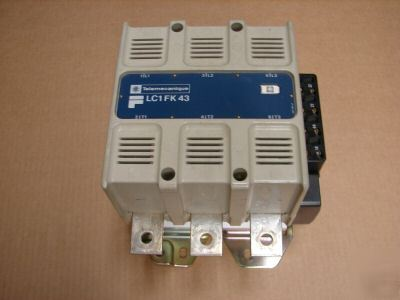 Telemecanique lc1fk43 contacter contactor motor starter Telemecanique motor starter