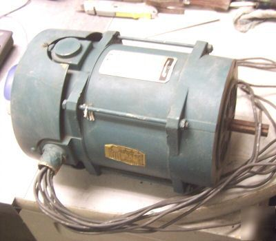 Reliance 1 hp ac electric motor 3 phase K56C frame