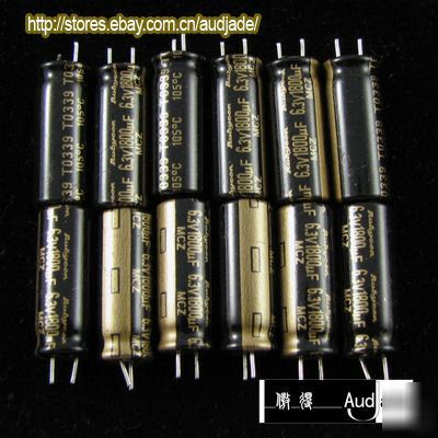 New 60pcs 1800uf 6 3v Rubycon Mcz Pc Capacitors