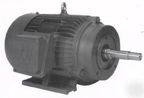 Worldwide close coupled electric motor 30 hp for Electric motors of iowa city