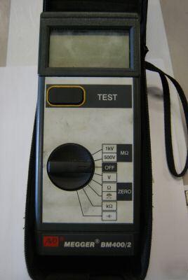 Avo Megger Bm400 2 Electric Test Insulator Equipment