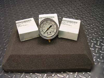 3 each marshall J4060 pressure gauge gage 2-1/2