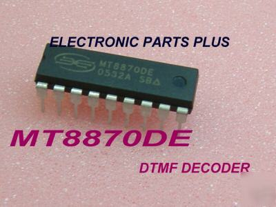 Dtmf decoder ic MT8870 de 18 pin pdip.