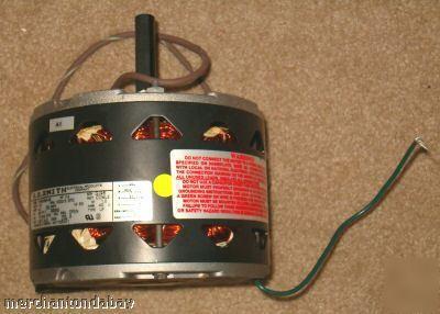 Magnetek univ electric 1 6 hp furnace blower motor for Electric motors of iowa city