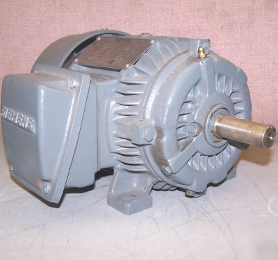 New siemens 2 hp severe duty ac electric motor 145t fr for Electric motors of iowa city