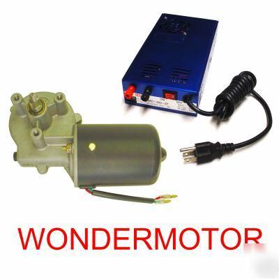 115v 230v 24vdc Gear Motor Reversible Gearmotor 50 Rpm