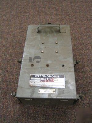 Westinghouse Tap Box 30a 240vac Bus Duct Bar Way