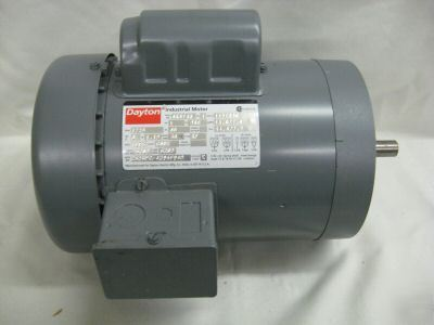 Dayton capacitor start motor ac 1 hp 6k674 6k674n for Dayton capacitor start motor