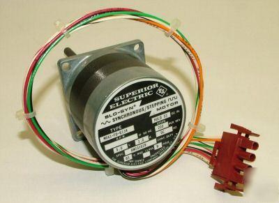 Superior electric bm101029 slo syn sync stepping motor for Superior electric slo syn motor