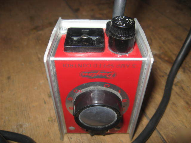 Dayton 5 Amp Speed Control Model 4x599 Universal 120 V