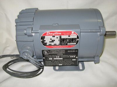 Dayton split phase haz loc motor ac 1 4hp 6k734 for Ford motor company human resources phone number