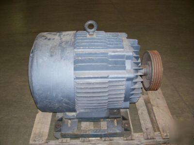 Marathon 125 hp electric motor tefc 1800 rpm 444t 460 for Electric motors of iowa city