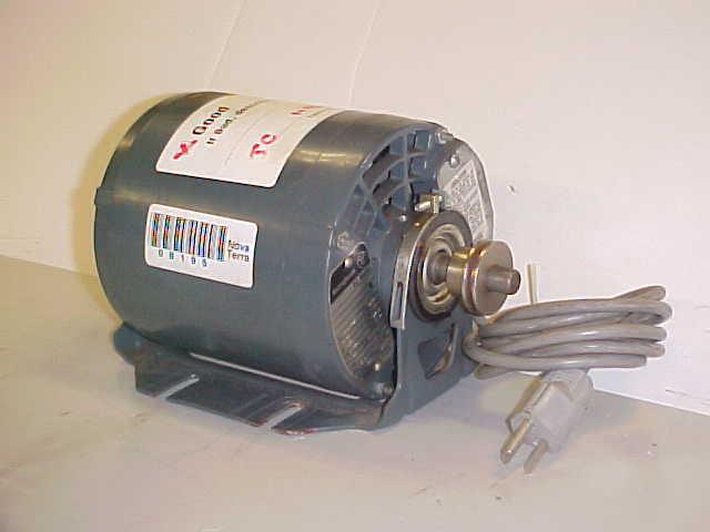 Westinghouse 1 5 hp 115v ac motor for Westinghouse ac motor 1 3 hp